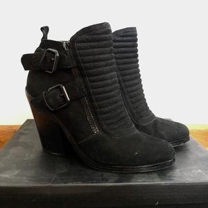 NastyGal Shoe Cult black booties